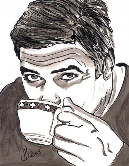 George Clooney by JLB